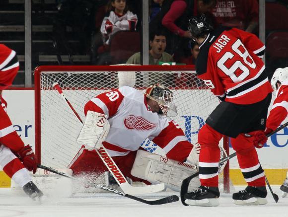 Detroit Red Wings vs. New Jersey Devils at Joe Louis Arena