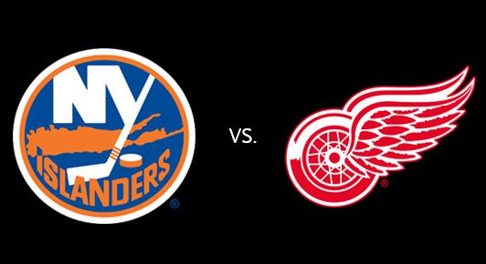 Detroit Red Wings vs. New York Islanders at Joe Louis Arena
