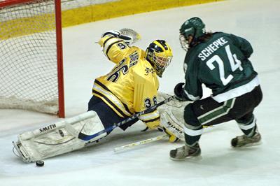 Michigan Wolverines Hockey vs. Michigan State Spartans at Joe Louis Arena