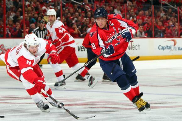 Detroit Red Wings vs. Washington Capitals at Joe Louis Arena