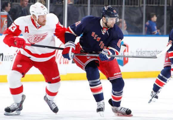Detroit Red Wings vs. New York Rangers at Joe Louis Arena