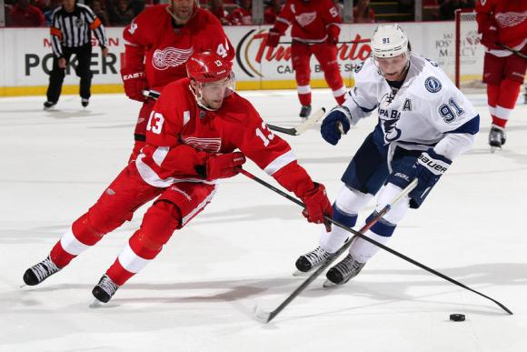 Detroit Red Wings vs. Tampa Bay Lightning at Joe Louis Arena