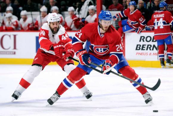 Detroit Red Wings vs. Montreal Canadiens at Joe Louis Arena