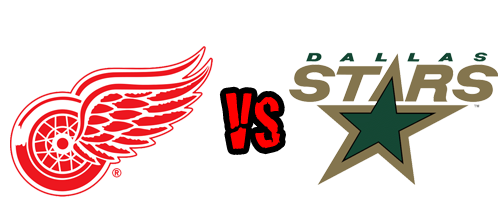 Detroit Red Wings vs. Dallas Stars at Joe Louis Arena