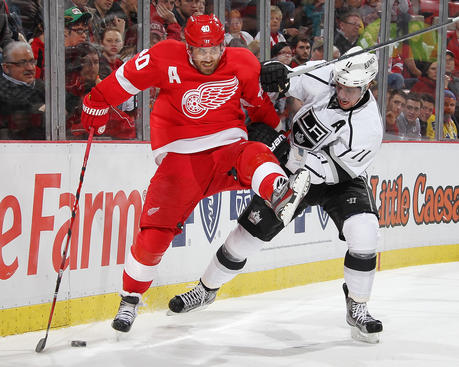 Detroit Red Wings vs. Los Angeles Kings at Joe Louis Arena