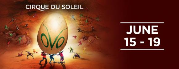 Cirque Du Soleil - Ovo at Joe Louis Arena