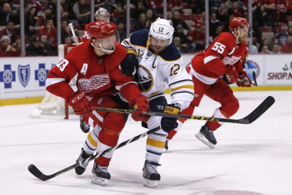 Detroit Red Wings vs. Buffalo Sabres at Joe Louis Arena