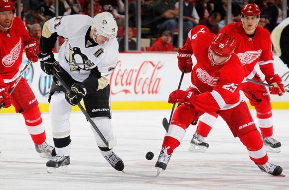 Detroit Red Wings vs. Pittsburgh Penguins at Joe Louis Arena