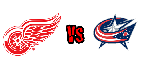 Detroit Red Wings vs. Columbus Blue Jackets at Joe Louis Arena