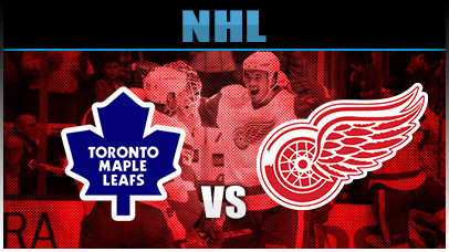 Detroit Red Wings vs. Toronto Maple Leafs at Joe Louis Arena