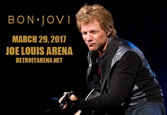 Bon Jovi at Joe Louis Arena