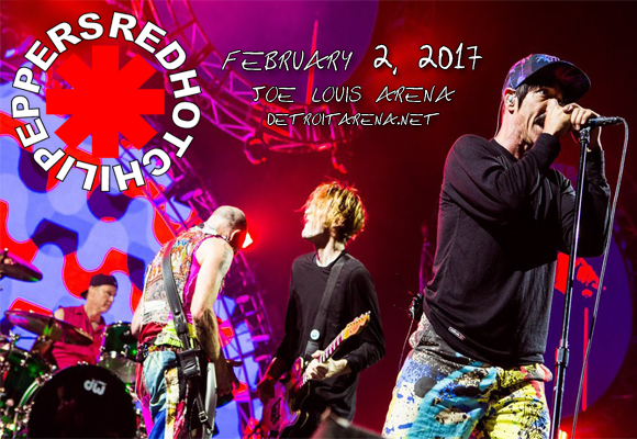 Red Hot Chili Peppers at Joe Louis Arena