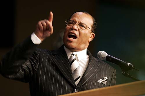 Louis Farrakhan at Joe Louis Arena